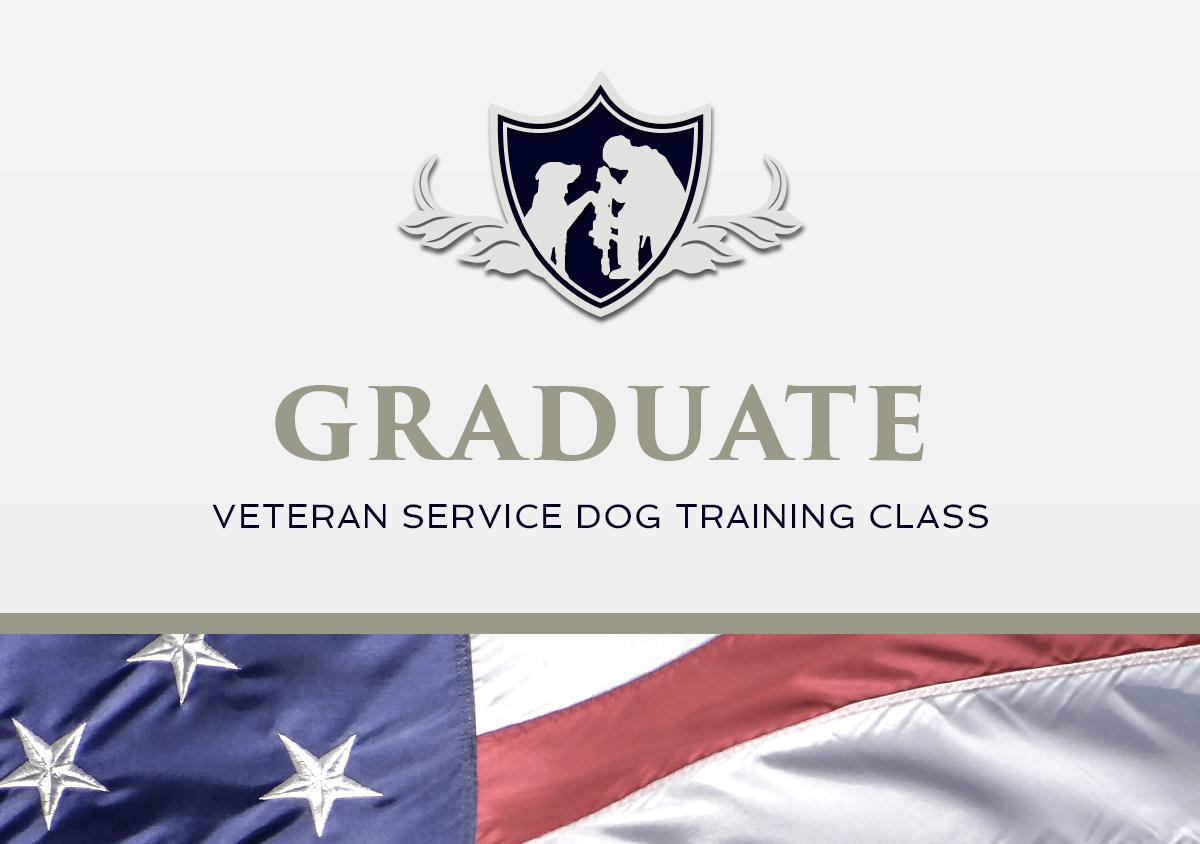 Graduate Veteran Service Dog Training Class