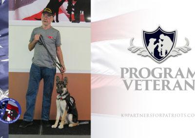 USMC Veteran Gary and K9 Crystal – Service Dog Team