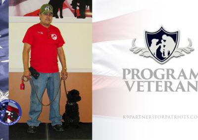 U.S. Army Veteran Modesto and K9 Rocky – Service Dog Team