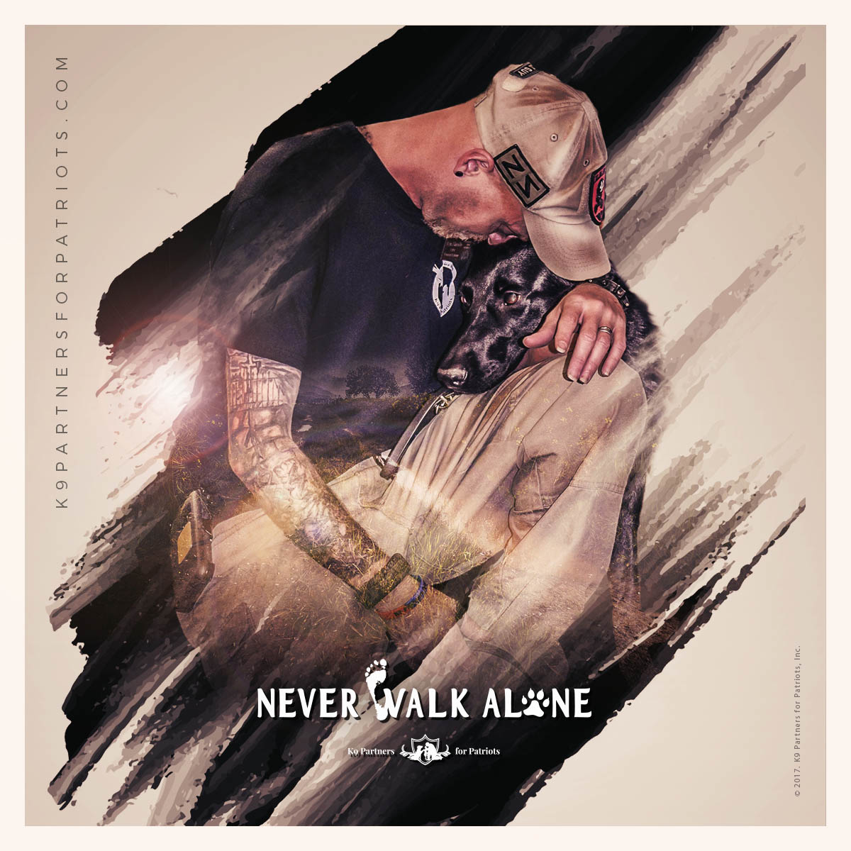 Never Walk Alone - K9 Partners for Patriots, Inc.