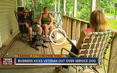 Wounded Warrior Turned Away At Restaurant Over Service Dog