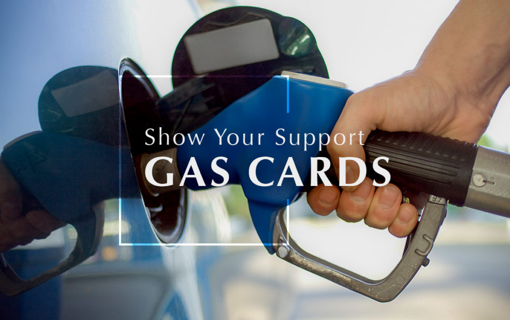 Donate Gas Cards for Program Veterans