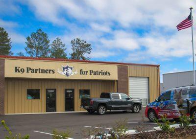 K9 Partners for Patriots New Training Facility