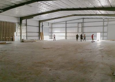 New Building Under Construction Interior